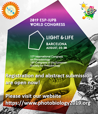 Home Page   European Society for Photobiology